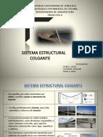 Diapositivas Sistema de Estructuras Colgantes, Proyectos II
