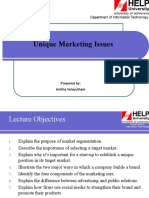 Lecture_10 - Unique Marketing Issues.ppt