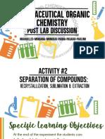 Org Chem Post Lab Act 2 PDF File