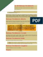 Características del Sistema Circulatorio.docx