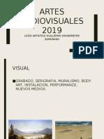 ARTES AUDIOVISUALES 2019.pptx