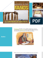 Estudio de Libro de Romanos