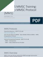 MM1 Phone To MMSC Protocol