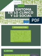 El Síntoma en Lo Clínico y Lo Social1