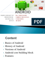 Seminar on Android