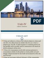Urban Design- Unit IV