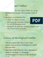 Ideological and Intractable Conflict