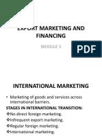 Export Marketing Ppt