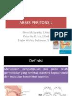 Abses Peritonsil Dan Retrofaring (Kpdm)