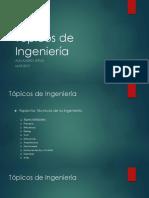 Tópicos de Ingeniería C1