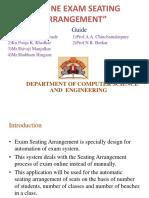 Exam Seating Arrangment