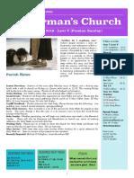 st germans newsletter - 7 april 2019