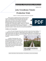 Kentucky Greenhouse Tomato Production Trials