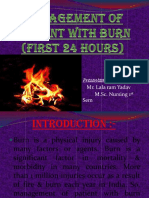 Management of Patient With Burn