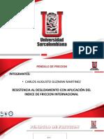 PENDULO FRICCION I APLICACION DEL IFIT