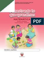 Kit de evaluación Entrada 2 Demostrando lo que aprendimos Matemática, segundo trimestre, _Cuarto grado - Primaria.pdf