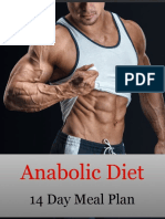 14 Day Anabolic Diet Meal Plan