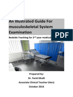 Musculoskeletal System Clinical Examination 2016