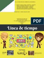 LINEA DE TIEMPO DE LA COSMOVISIÓN DEL HOMBRE EN LATINOAMERICA