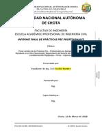 ESTRUCTURA INFORME FINAL DE PRÁCTICAS PRE - PROFESIONALES UNACH..docx