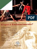 O Que é Esclarecimento - Immanuel Kant [et. all].pdf