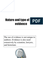 2nd Lecture Audit Evidence