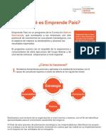 Emprendepais Final PDF
