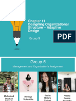 chapter 11 Designing Organizational Structure
