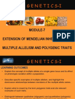 10. Multiple allelism and polygenic traits.ppt