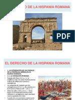 El Derecho de La Hispania Romana