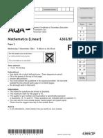AQA-43651F-QP-NOV14