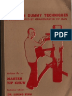 116 wing tsun wooden dummy techniques
