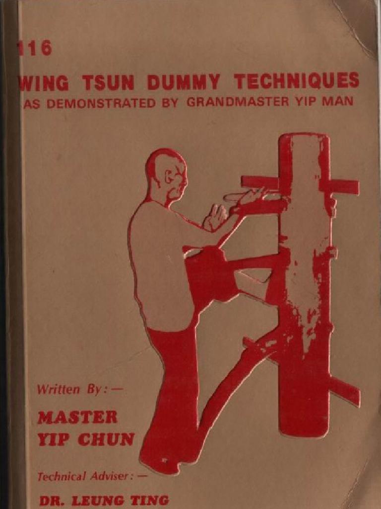 116 Wing Tsun Wooden Dummy Techniques