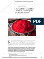 The Intriguing History of the Color Red, From Vermilion to Cadmium Red