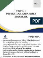 INISIASI Manajemen Strategi