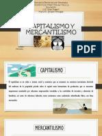 Capitalismo y Mercantilismo