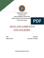 Apalancamiento Financiero ( Analisis de Los Edos. Financ.)