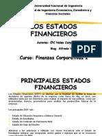 3.1 Los Estados Financieros