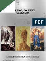 Tiresias Calcas y Casandra