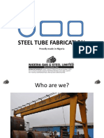 Pipe Bending - Nigerian Gas & Steel Ltd