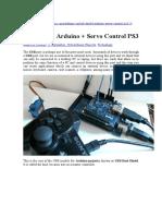 Conexión Arduino PS3 USB