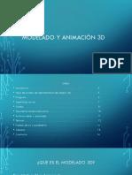 MODELADO Y ANIMACION 3D