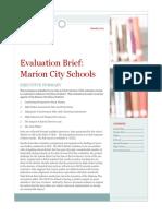 Marion Summary Final