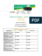Tabela de Euipamentos + Produtos (2)