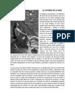 Leyenda de la Iara - versión en español