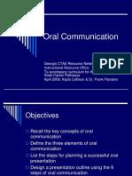 oral communication speech com
