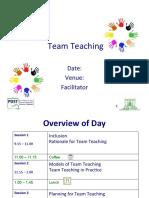 Team Teaching Seminar Final