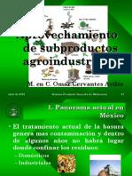 Aprovechamiento de Subproductos Agroindustriales