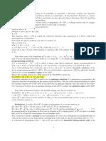 Optimization notes