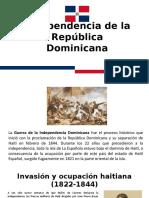 Independencia de la República Dominicana.pptx